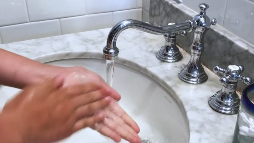 Hand Washing Flu