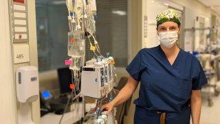 ICU Sharp Nurse Diane Ward