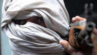 Foto archivo de un Taliban