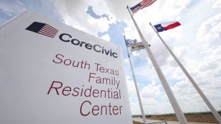 El Centro de Detención de ICE en Dilley (Texas) fue inaugurado en diciembre pasado.