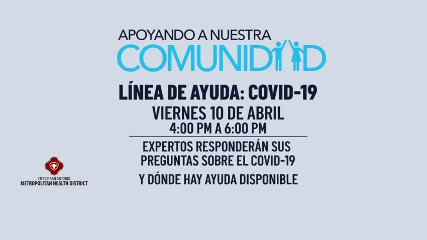Línea de ayuda sobre el COVID-19