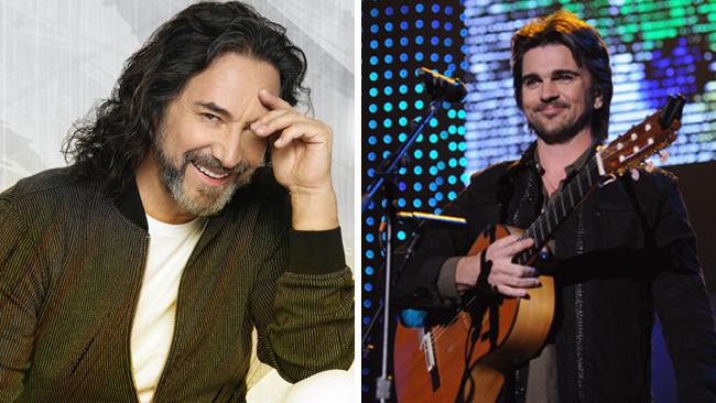 Marco Antonio Solís y Juanes