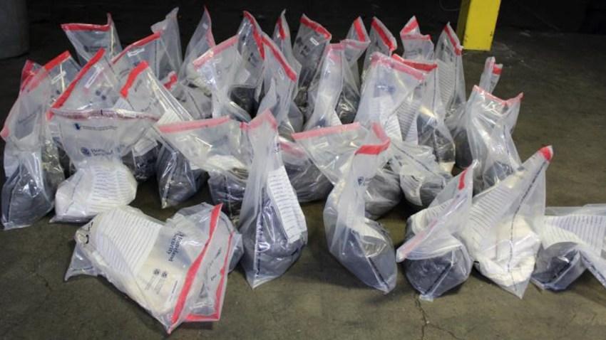 Decomisan metanfetamina en Laredo