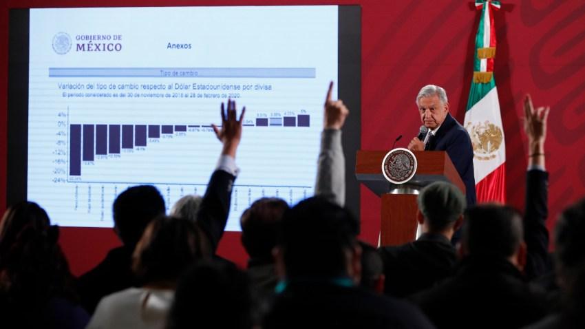 AMLO habla sobre el peso mexicano y el coronavirus