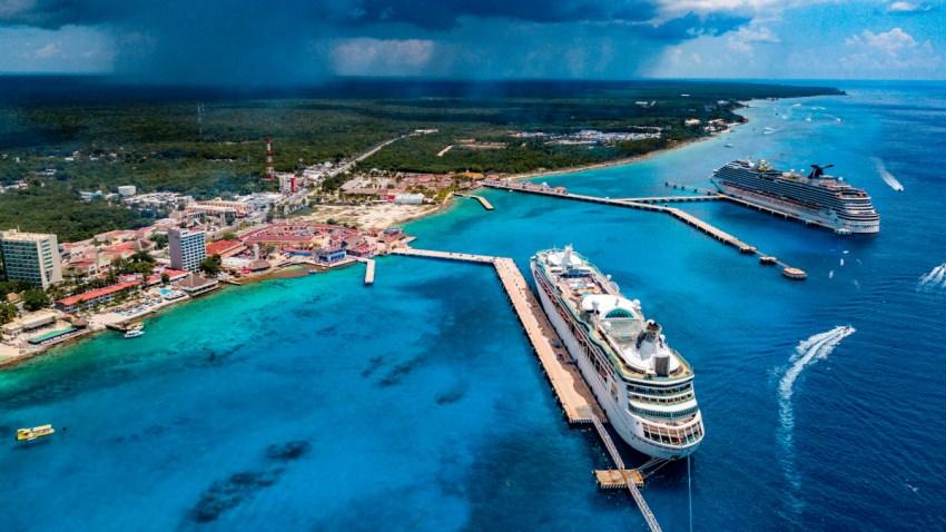 Vista de Cozumel, en Quintana Roo