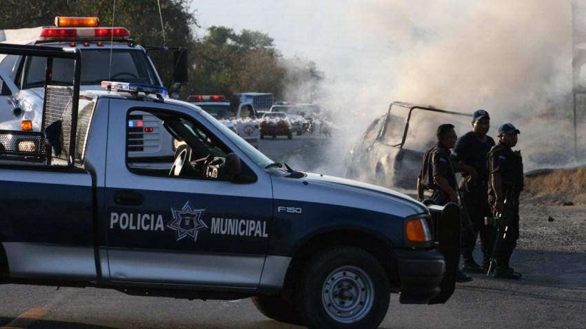 Policías en un operativo en Guerrero