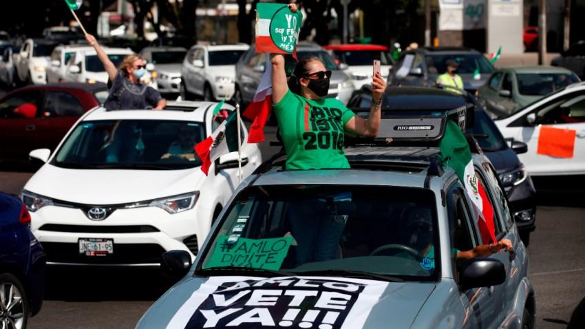 Protesta contra AMLO en Jalisco