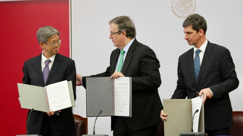 Japón apoya a migrantes en México