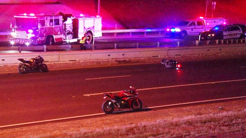 Accidente de motocicleta al oeste de SA