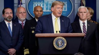 Equipo de Trump contra el coronavirus