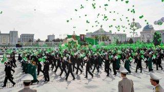 desfile en Turkmenistan