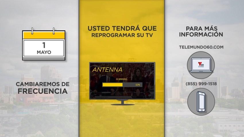 Reprograma tu televisor
