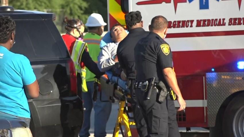 Trabajador herido en accidente en MLK Drive