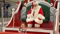 Navidad en pandemia: se las ingenian para que niños y Santa hablen de los regalos