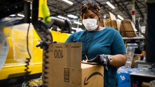 Centro de distribución de Amazon