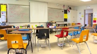 The state will not penalize school districts for students who aren't attending class during the pandemic. Some students are not participating in online learning and normally that would cost their campuses money.