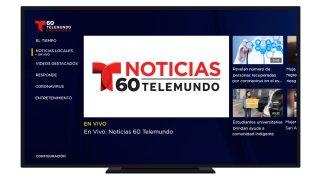 Telemundo 60 San Antonio en Roku y Apple TV