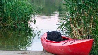 Foto genérica de un kayak