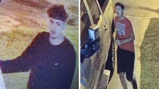 Sospechosos de robos en Pleasanton