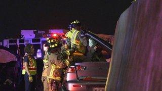 Chofer muere en choque con Loop 410