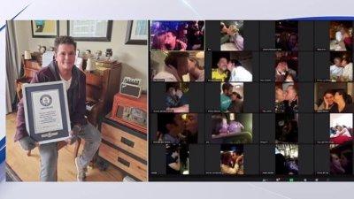 Carlos Vives logra récord Guinness por besatón virtual – Telemundo San Antonio (60)