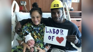 Zacari Smith nace tras accidente vehicular