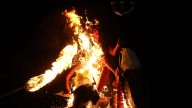 "Guatemala: queman al ""diablo"" para limpiar impurezas"