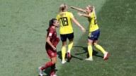 Grandes jugadas del primer tiempo: Tailandia vs Suecia