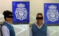 En España la policía hizo públicas las imágenes de un acusado de transportar cocaína en un vuelo procedente de Colombia.