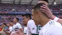 La afición de México se hace sentir en la arena y sin ninguna duda serán factor para que su selección se lleve la victoria.