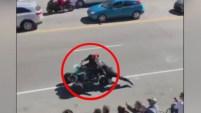 El sargento se recupera en su casa tras este incidente ocurrido en Tennessee. Mira aquí el video.