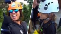 La presentadora de Un Nuevo Día y su pequeña hija viajaron a Puerto Rico para una intrépida actividad. Para ver más de Telemundo,...