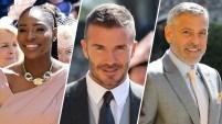 Los 2,640 invitados incluyen a miembros de la familia real y amigos famosos de Harry y Meghan. Mira las fotos.