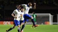 Un remate perfecto de Everton le da victoria a Brasil contra Bolivia, en la apertura de la Copa América 2019.