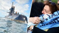 El submarino argentino desapareció el 15 de noviembre de 2017, con 44 tripulantes a bordo.