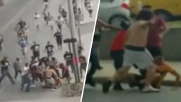 De la pasión a la violencia: pelea entre hinchas acaba con joven acuchillado
