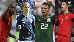Futbolistas que brillaron en la primera ronda de Rusia 2018