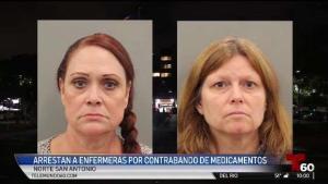 Enfermeras de San Antonio acusadas de contrabando