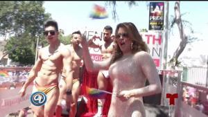 """Machado: """"Todos pertenecemos a la comunidad LGBTQ"""""""