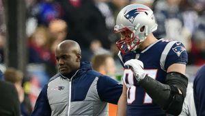 Gronkowski optimista de que jugará en el Super Bowl