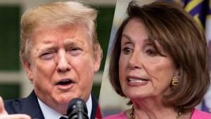 Pelosi dice estar preocupada por el bienestar de Trump