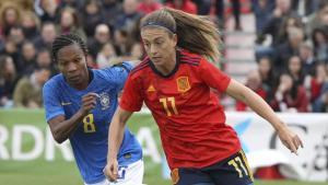 España vence a Brasil rumbo al Mundial Femenino 2019
