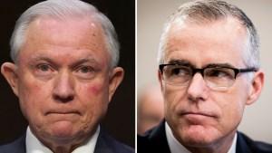 Sessions despide a subdirector del FBI a horas de retiro