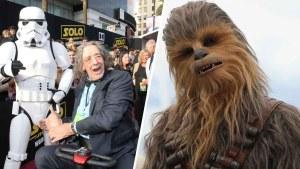 """Actor que interpretó a """"Chewbacca"""" muere a los 74"""