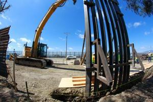 Comienza renovación de valla fronteriza en Tijuana