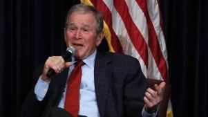 """Expresidente Bush: inmigración es """"bendición y fortaleza"""""""