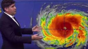 Poder letal: Florence sube a categoría 4 en apenas horas
