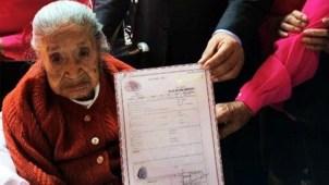 Muere mujer de 117 años en Ciudad de México