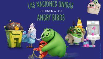 ONU encomienda increíble misión a los Angry Birds