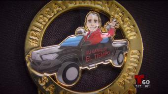 Ariel Rivera Vázquez devela su medalla de Fiesta